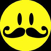 Mustache Smiley