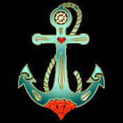 Anchor Tattoo Style, Sea, Hope, Faith & Love
