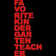 Favorite Kindergarten Teacher