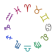 zodiac Colour Circle