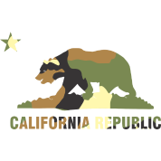 CALIFORNIA REPUBLIC Bear Camoflage