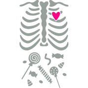 Ribcage with Candy Belly