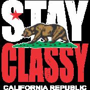 Stay Classy California Bear