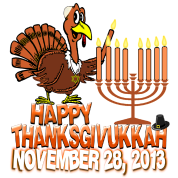 Happy Thanksgivukkah - Thankgiving Hanukkah 2013