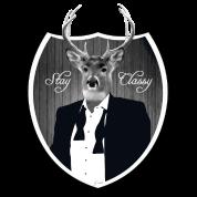 deer in tuxedo