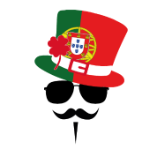 Portugal Go Mustache Fan