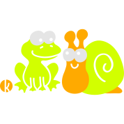 Frog and Snail Buddies
