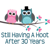 30th Anniversary Owl Couple