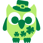 Owl Shamrock