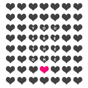You are the one - valentine's day