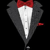 bow tie sear sucker tuxedo