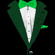 St.Patrick's Day Green Tuxedo Costume