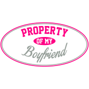 PROPERTY OF MY BOYFRIEND