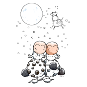 Romantic Cow Star - Cows