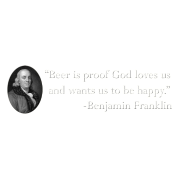 Ben Franklin Beer Quote