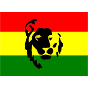 Red Green Gold Lion