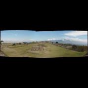 Mount Alban ruins Mexico