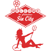 Sin City - Devil Mudflap Girl