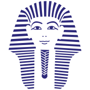 King Tut 1 Color - Pharaoh Tutankhamun