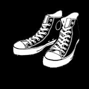 Converse Stencil