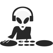 DJ Alien Turntables