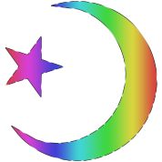 Gay Pride Star and Crescent