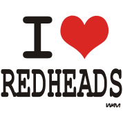 i love redheads by wam