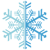 2 Color Winter Snowflake