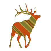 Christmas Plaid ReinDeer