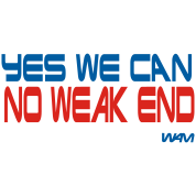 yes we can no weak end by wam