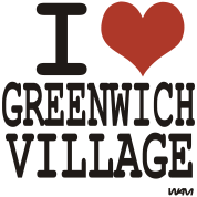 i love greenwich village by wam