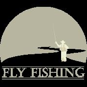 Fly fisherman 2 Fly Fishing shirt design