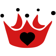 crown with heart