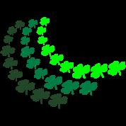 Shamrock Swirl, 3 Color