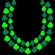 Irish Shamrock Lei, Open End