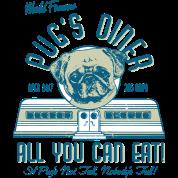 Pug Diner (olive)