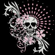 Vintage Girly Skull