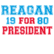 Ronald Reagan 1980 Retro