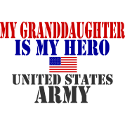 GRANDDAUGHTER HERO ARMY