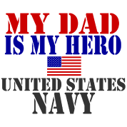 DAD HERO NAVY