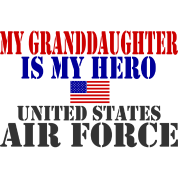 GRANDDAUGHTER HERO USAF