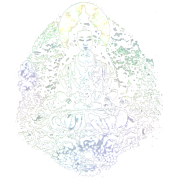 Transparent Earth Buddha