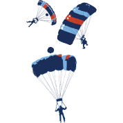 cool skydiving parachutes