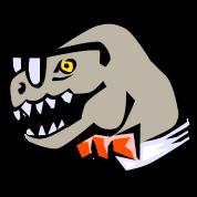 smart T-rex