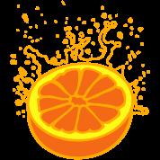 juicy orange or grapefruit (3c)