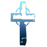 Blue Tone Cross