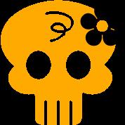 hippie skull (2c)