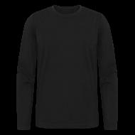 Long Sleeve Shirts ~ Men's Long Sleeve T-Shirt by American Apparel ~ American Apparel Long Sleeve Black Tee
