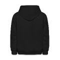 Monster Skull (1c, Skulls) Kids' Hooded Sweatshirt