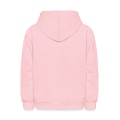 Valentines Dove female_2c Kids' Hooded Sweatshirt